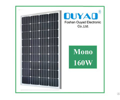 Cheap Price 160w Mono Solar Panel