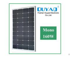 Cheap Price 160w Mono Solar Panel