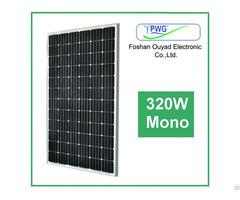 Grade A Cell 320w Mono Solar Panel