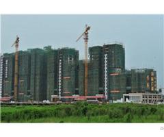 Qtz80 Tc6012 Trustworthy Self Erecting Fixed Hydraulic Construction Building Tower Crane