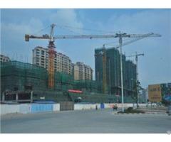 Qtz100 Tc5515c Trustworthy Self Erecting Fixed Hydraulic Construction Building Tower Crane