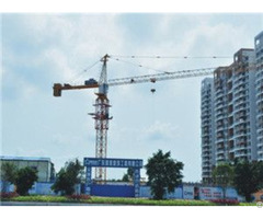Qtz125 Tc6016c Trustworthy Self Erecting Fixed Hydraulic Construction Building Tower Crane