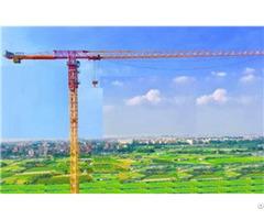 Qtp125 Tct6515 Max Load 8t Maxjib Length 65m Topless Tower Crane