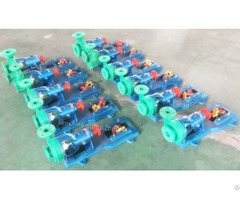 Fp Polypropylene Plastic Chemical Centrifugal Pump