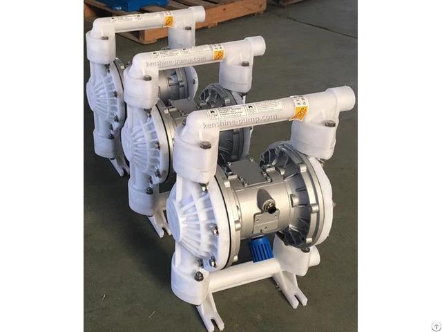 Qbk Pvdf Air Operated Double Diaphragm Pump