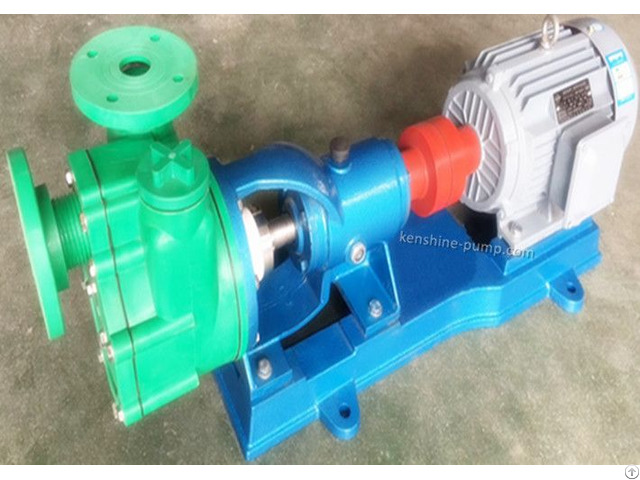 Fpz Polypropylene Self Priming Chemical Pump