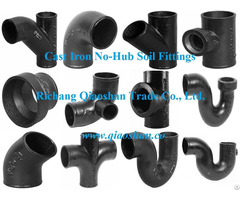 Cispi 301 Astm A888 No Hub Cast Iron Soil Fittings