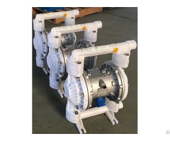 Qbk Pvdf Air Operated Double Diaphragm Pump