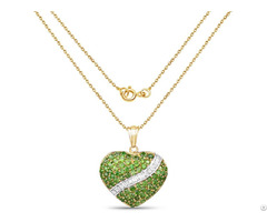 Chrome Diopside Customized Necklace