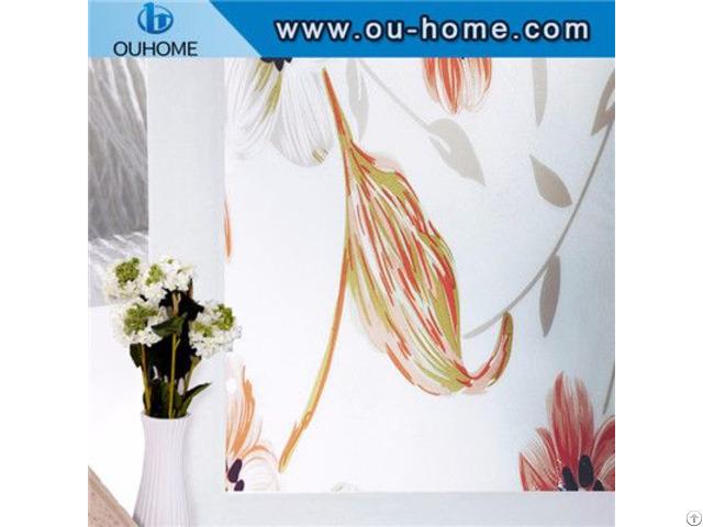 H8271 Custom Decorative Static Window Film