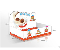 Attractive Structure Display Box For Chocolate