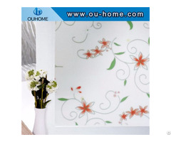 H825 3d Dyed Decorative Glass Static Window Film