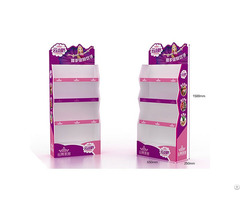 Customized Eco Friendly Corrugated Paper Floor Display Stand Dumpbin Standee