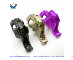 Rapid Prototypes Matt Anodised Oem Cnc Alloys Milling Parts