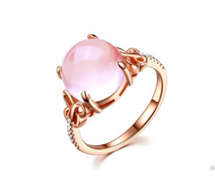 Pink Opal Lady S Ring