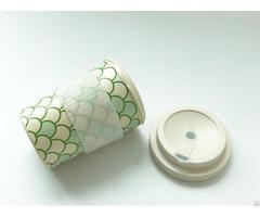 Bamboo Fibre Mug With A Srew On Lid