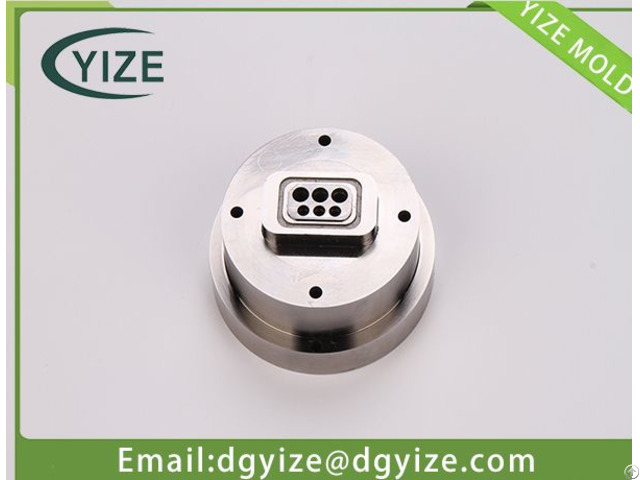 Injection Mold Part Processing Connector Mould Parts Far Ahead In Quality