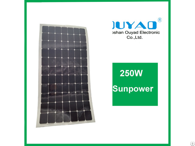200w Sunpower Flexible Solar Panel