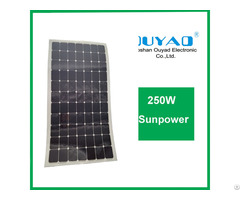 200w Sunpower Flexible Solar Panel
