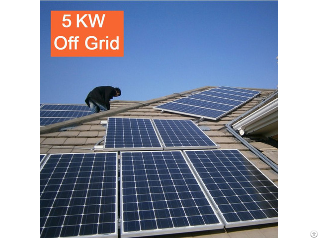 5kw Off Grid Solar Power System For Home Equipment Use