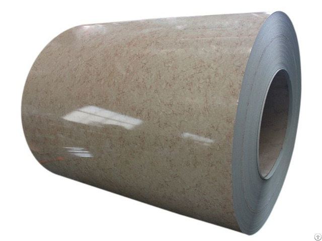 Color Coated Pattern Ppgi Steel Coil For Building Material