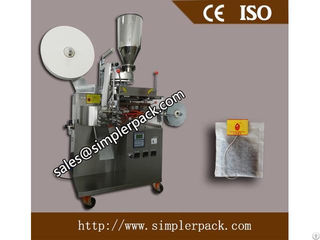 Single Serving Filter Paper Tea Bag Packing Machine