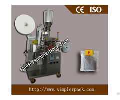 Single Serving Filter Paper Tea Bag Packing Machine