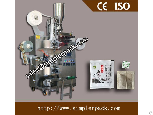 Multi Function Inner And Outer Tea Bag Packing Machin