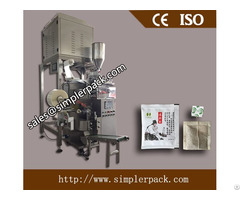 Tea Bag Packing Machine With 4 Electric Scale