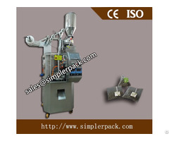 Pyramid Nylon Mesh Tea Bag Packing Machine