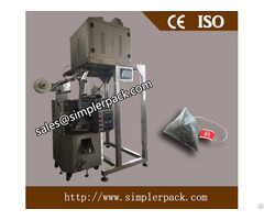 Updated Pyramid Nylon Tea Bag Packing Machine