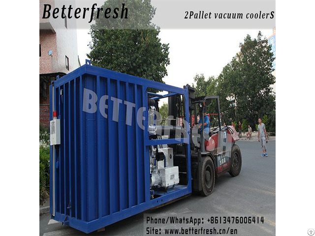Betterfresh Design Sliding Door Vacuum Cooler Cooling Machine With Stainless Steel