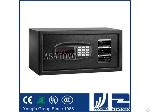 Rugged Design High Gloss Finish Solid In Room Hotel Safe