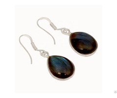 Labradorite Customized Solitaire Earring
