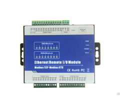 Modbus Tcp Ethernet Remote Io Module Rs485 To Rj45 Converter Ain Din Relay Output