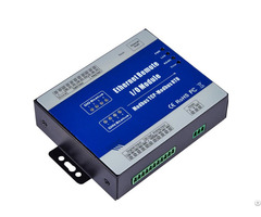 Modbus Rtu Remote Io Rs485 Serial Port Server Module For Plc Hmi Control 4di 4do 4ai 2ao