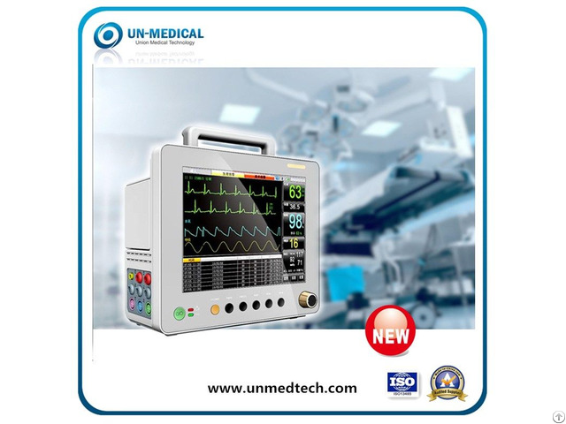 New 12 1 Inch Ultra Thin Design Patient Monitor