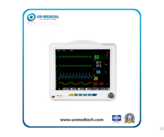 Medical Equipment 12 1 Inch Multi Parameter Blood Icu Vital Sign Ecg Etco2 Patient Monitor