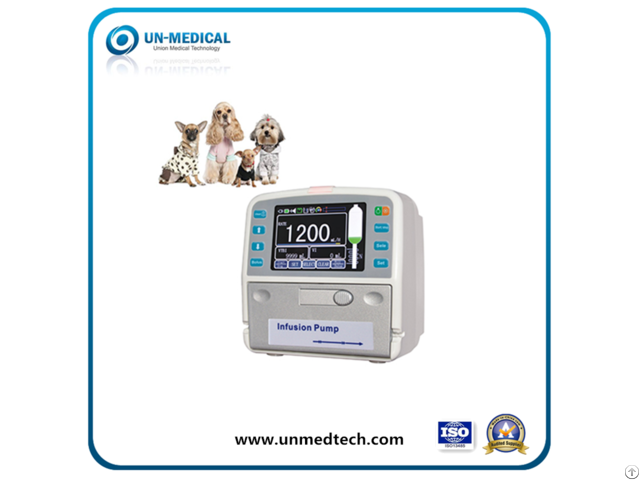 Veterinary Infusion Pump With Touchscreen