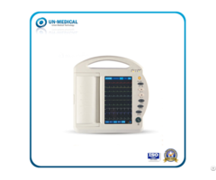 Twelve Channel Ecg Machine With 10 Inch Touchscreen