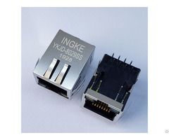 J1b1211ccd Ykjd 8029ss 1 Port Through Hole 100base T Rj45 Ethernet Connectors