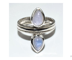 Moon Stone Lady S Ring