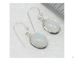 Moon Stone Customized Solitaire Earring