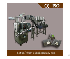 Multi Materials Pyramid Tea Bag Packing Machine