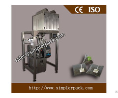 Pyramid Nylon Tea Bag Packing Machine With Thread And Tag