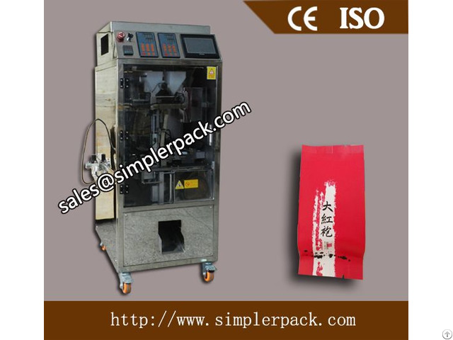 Loose Tea Leaves Packaging Machine With Outer Envelope