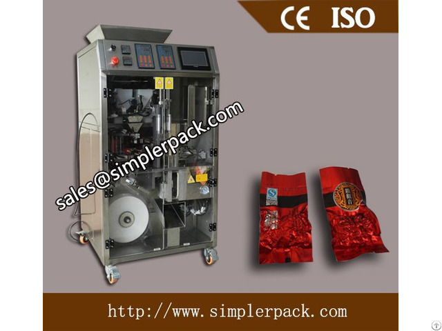 Tea Bag Vacuum Packaging Machine With Outer Envelope