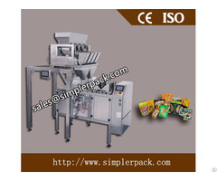 Pre Made Zip Bag Dried Fruits And Vegetables Packing Machine
