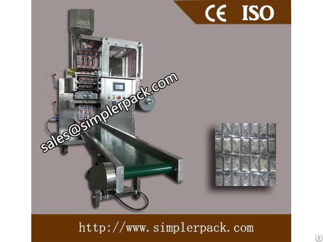 Automatic Multiple Lanes Grain And Powder Packaging Machine