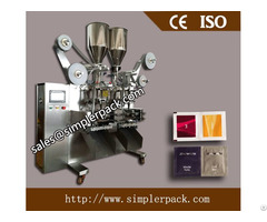 Automatic Granules Packing Machine 3 Sides Sealing 4 Lanes